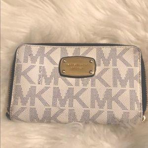 Michael Kors Navy & White wallet.